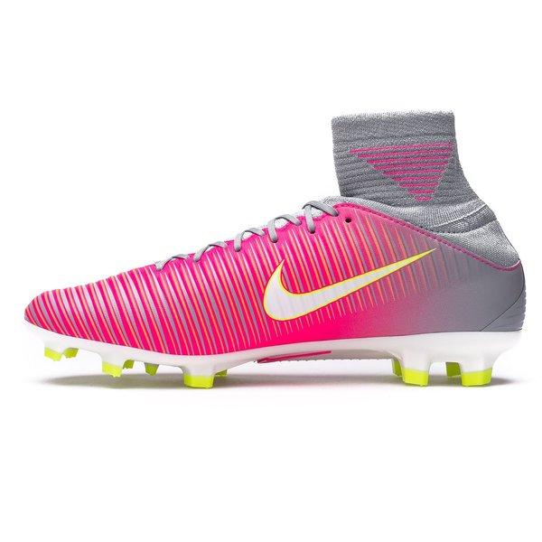 dfb5703ff80f Nike Mercurial Veloce III DF FG Motion Blur - Hyper Pink Wolf Grey Woman