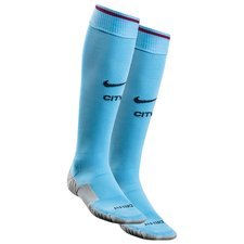 manchester city home socks 2017/18 - football socks