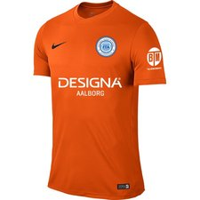 fta scandinavia - udebanetrøje orange - fodboldtrøjer