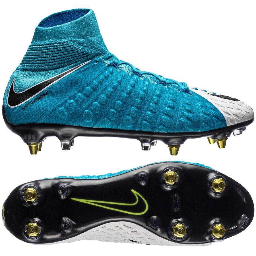 33dbd7e4 Nike Hypervenom Phantom 3 DF SG-PRO Anti-Clog Motion Blur -  White/Black/Photo Blue/Chlorine Blue | www.unisportstore.com