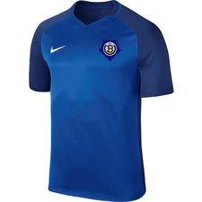 undløse bk - hjemmebanetrøje blå/navy - fodboldtrøjer