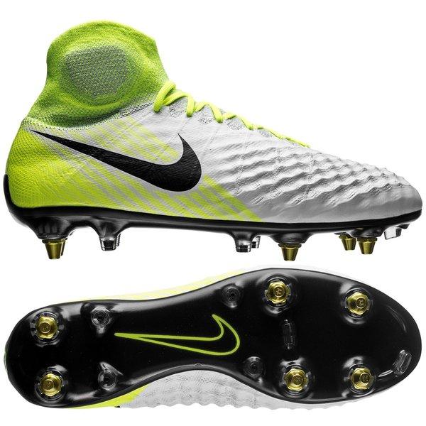 e2b68a0a7375b Nike Magista Obra II SG-PRO Anti-Clog Motion Blur - Hvit Neon Grå ...