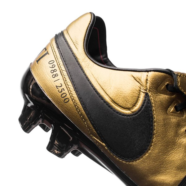 Nike Tiempo Legend 6 FG Totti X Roma DoréNoirRouge ÉDITION LIMITÉE
