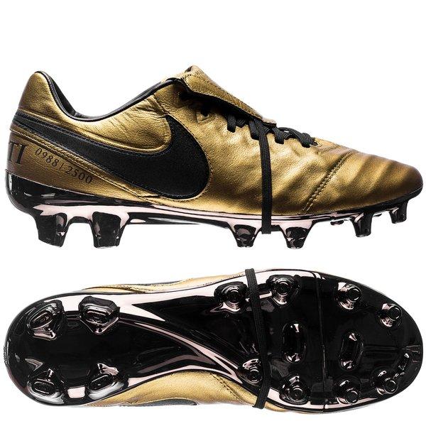 on sale 7d4f0 13940 Nike Tiempo Legend 6 FG Totti X Roma - Metallic Gold/Black ...