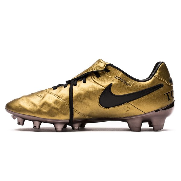 on sale 595cf 98e1e Nike Tiempo Legend 6 FG Totti X Roma - Metallic Gold/Black ...
