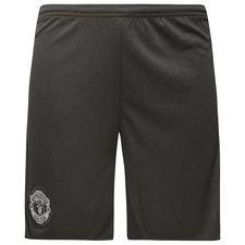manchester united goalkeeper shorts 2017/18 - black kids - football shorts