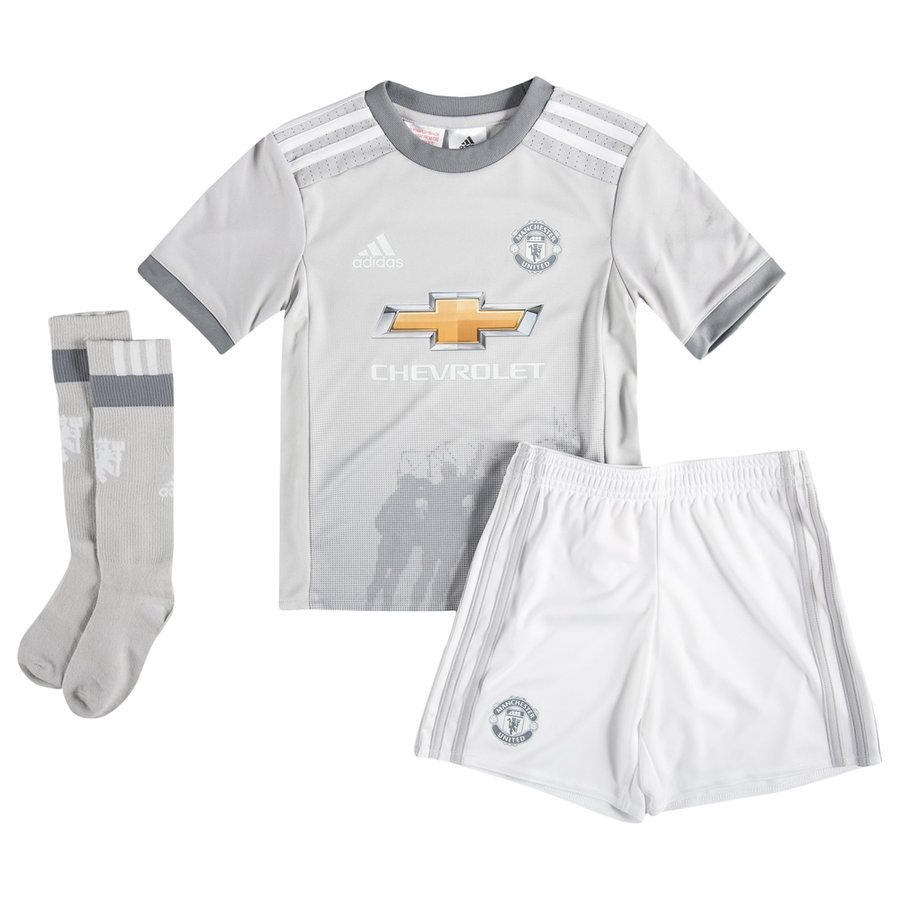 41116dfb837 Manchester United Third Kit 2017 18 Mini-Kit Kids
