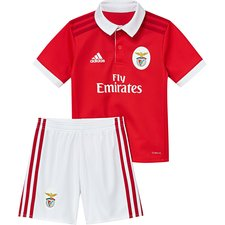benfica hjemmebanetrøje 2017/18 mini-kit børn - fodboldtrøjer