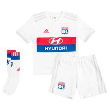 lyon hjemmebanesæt 2017/18 mini-kit børn - fodboldtrøjer