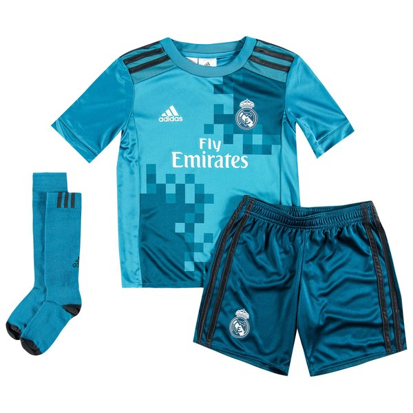 timeless design 1ba81 898aa Real Madrid Third Kit 2017/18 Mini-Kit Kids | www ...