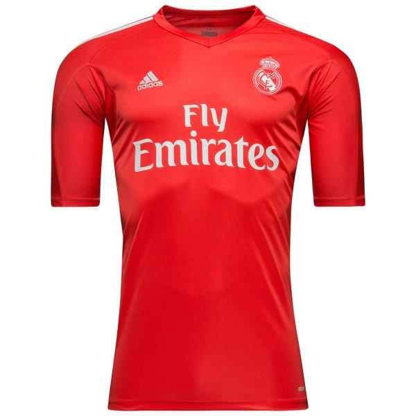 new styles 7f34a 20844 Real Madrid Goalkeeper Shirt 2017/18 Red | www.unisportstore.com