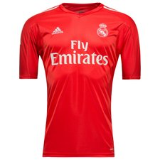 real madrid goalkeeper shirt 2017/18 red kids - football shirts
