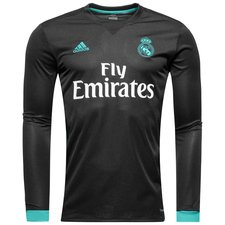 real madrid away shirt 2017/18 l/s - football shirts