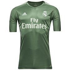 real madrid goalkeeper shirt 2017/18 green - football shirts