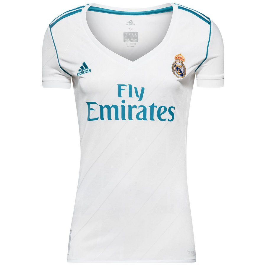 real madrid home shirt 2017 18 women - football shirts ... 695c7ab52