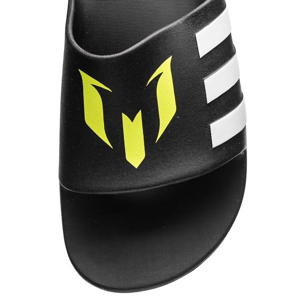 new products ae788 be209 adidas Suihkusandaalit Aqualette Cloudfoam Messi - Musta Valkoinen 3