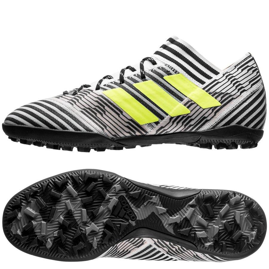 adidas nemeziz tango 17.3 tf dust storm - footwear white solar yellow core  black ... 3ea42d11f