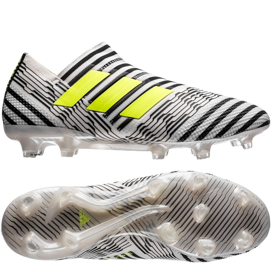 adidas Nemeziz 17+ 360Agility FG AG Dust Storm - Footwear White Solar Yellow Core  Black. Read more about the product. - football boots. - football boots ... ece4c19cb