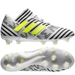adidas Nemeziz 17.1 FG/AG Dust Storm - Footwear White/Solar Yellow/Core Black