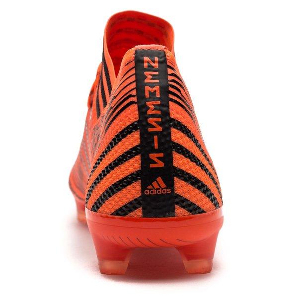 Adidas Nemeziz 17,1 Fg / Ag Tempête Pyro - Enfants Orange / Noir / Rouge