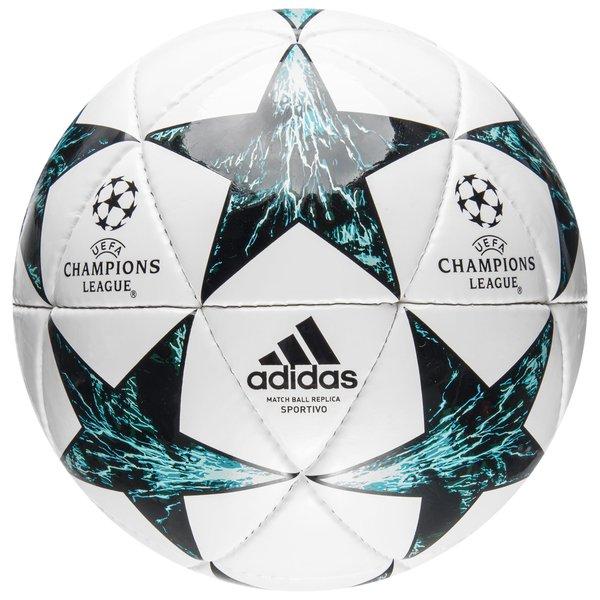 adidas fußball champions league 2017/18 sportivo - weiß/schwarz/blau - fußbälle
