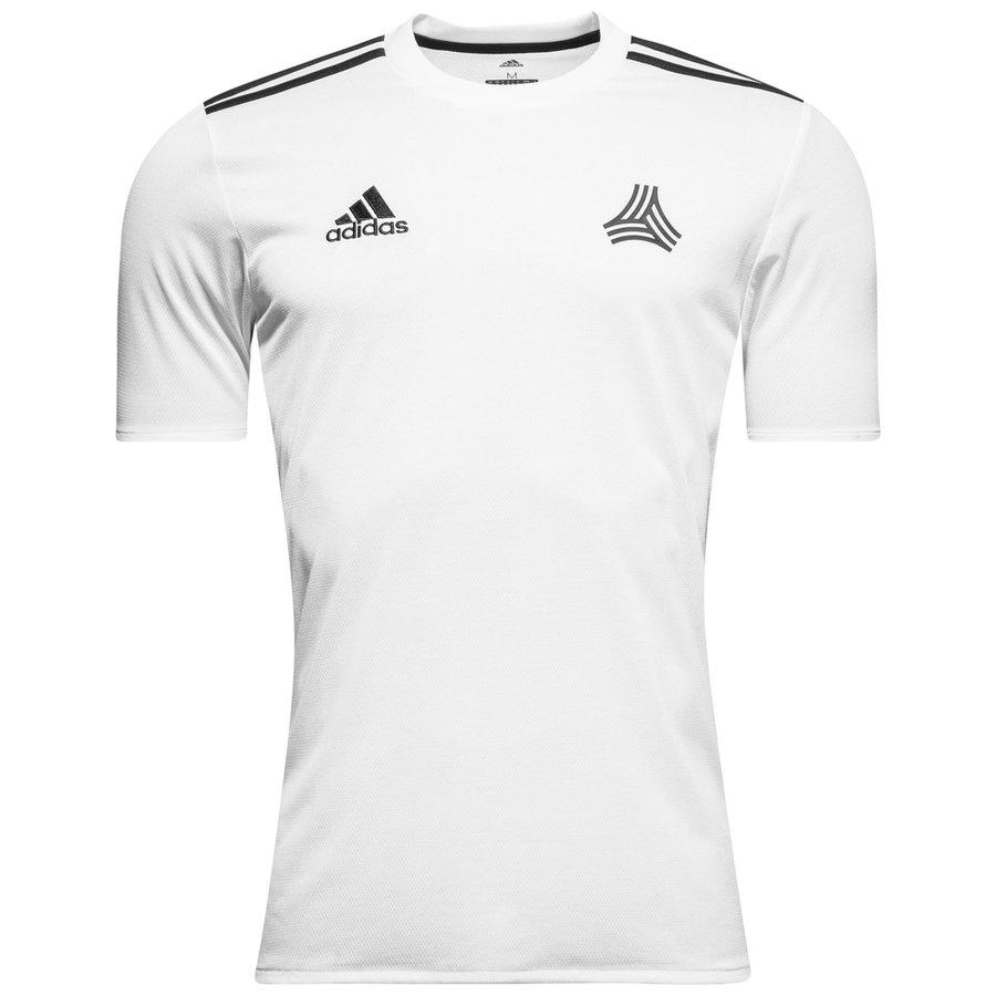 338e5839a8a585 adidas Training T-Shirt Tango - White/Black | www.unisportstore.com