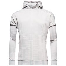 adidas hoodie z.n.e. pulse - grey heather/white - hoodies