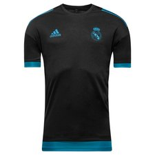 Real Madrid Tränings T-Shirt UCL - Svart/Turkos