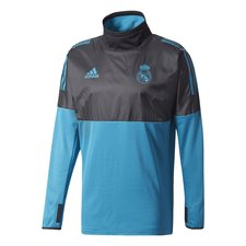 real madrid training shirt hybrid ucl - black/vivid teal - training tops