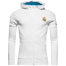 real madrid hættetrøje anthem squad hjemmebane - hvid børn - hættetrøjer