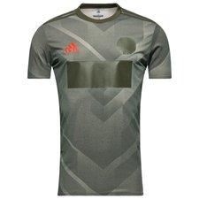 adidas tränings t-shirt tango pyro storm - grön - t-shirts
