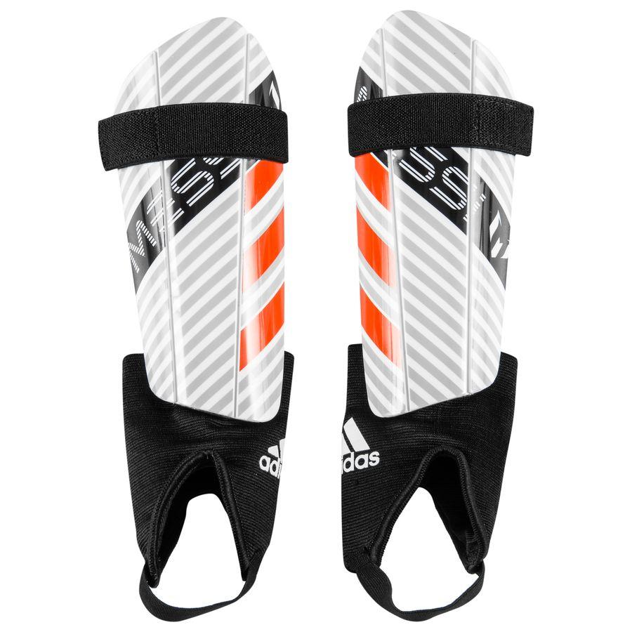 new styles 82954 f117f adidas säärisuojat messi 10 - valkoinen musta lapset - säärisuojat ...