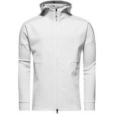 adidas hoodie z.n.e. duo - wit/grijs - hoodies