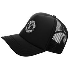 Image of   Manchester United Kasket Trucker - Sort/Hvid