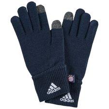 bayern münchen gloves - navy - gloves