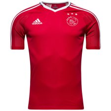 Image of   Ajax Trænings T-Shirt - Rød/Hvid Børn