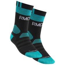 real madrid training socks - black/blue - socks