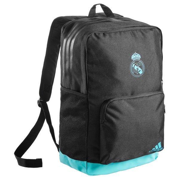 b3ad469e14c Real Madrid Rugzak - Zwart/Turquoise | www.unisportstore.nl