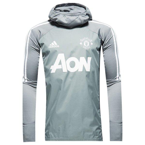 Manchester United Trainingsshirt Warm GrauWeiß Kinder