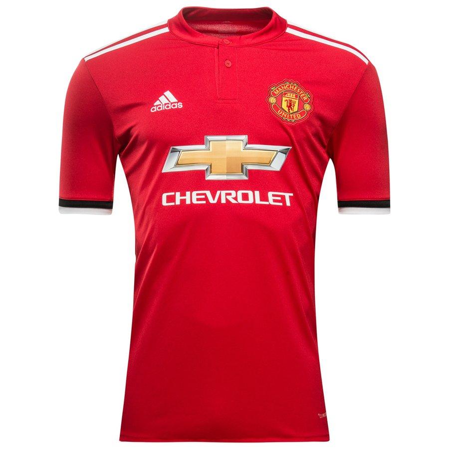 manchester united home shirt 2017 18 - football shirts ... 262aa0a058b9