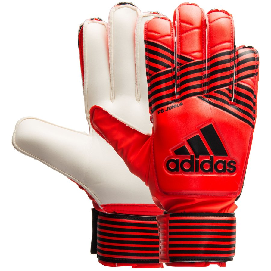 adidas goalkeeper gloves ace fingersave junior pyro storm - solar red solar  orange solar ... 83bed3b8a5f4