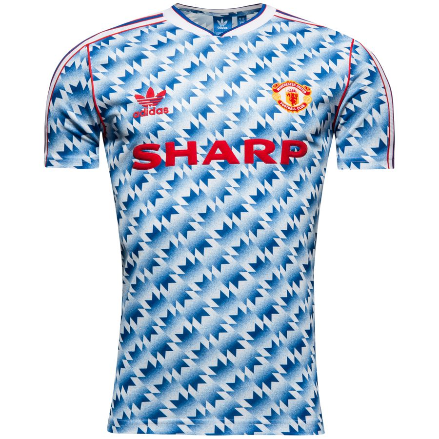 2178f509044 manchester united retro away shirt 1990-92 originals - multicolor - t-shirts  ...