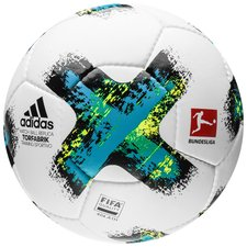 Image of   adidas Fodbold Torfabrik Bundesliga 2017/18 Sportivo - Hvid/Blå/Sort