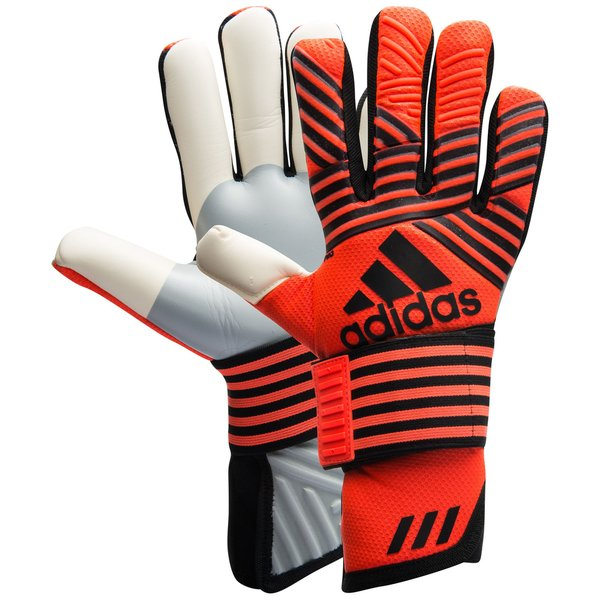 pretty nice ee1f1 46fea adidas Goalkeeper Gloves ACE Trans Pro Pyro Storm - Solar Red Core  Black Onix