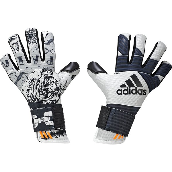 online store 1464d 1a9eb adidas Goalkeeper Gloves ACE Trans Pro 2-Face - White/Core ...
