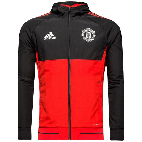 08aee757 Manchester United Jacket Presentation UCL - Red/Black |  www.unisportstore.com