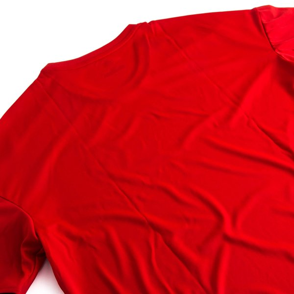 manchester united t shirt d 39 entra nement ucl rouge noir. Black Bedroom Furniture Sets. Home Design Ideas