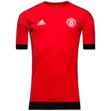 Manchester United Tränings T-Shirt UCL - Röd/Svart
