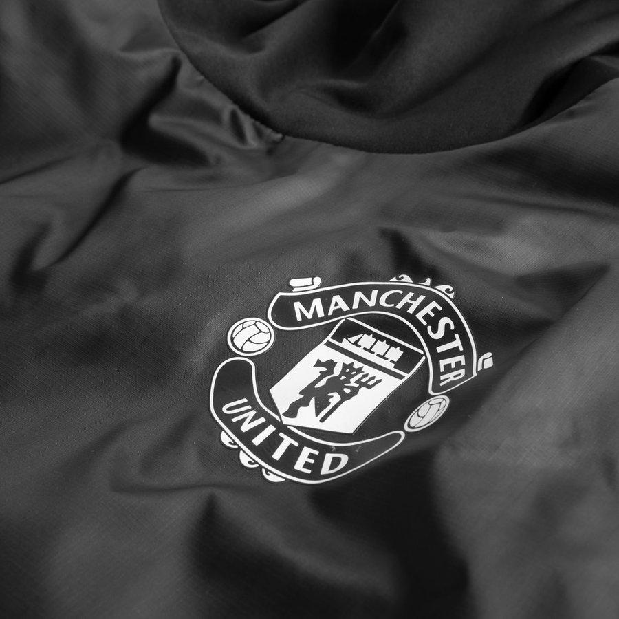 manchester united maillot d 39 entra nement hybrid ucl noir rouge. Black Bedroom Furniture Sets. Home Design Ideas