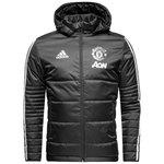 manchester united vinterjakke - grå/hvid - jakker